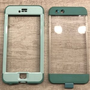 life proof nuud iphone 6 plus case teal